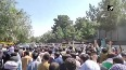 Watch: Afghan nationals protest outside Pak Embassy in Kabul