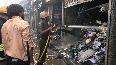 7 shops gutted in massive fire in WB s Siliguri.mp4