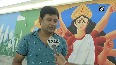 Pedestrian subway in Kolkata s New Town revamped with murals celebrating culture, history