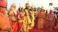Deepotsav celebrations CM Yogi welcomes Ram and Sita in Ayodhya.mp4