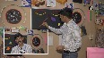 Delhi teacher sets up activity room to take online classes in fun way.mp4