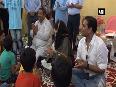 Watch Mehbooba Mufti celebrates Diwali with orphan children