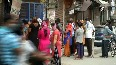 Social distancing norms flouted as people rush to buy ration and relief materials in Delhi s Mandawali