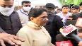 Former CM Mayawati pays floral tribute to Kalyan Singh