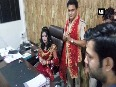'Godwoman' Radhe Maa spotted in police officer's chair
