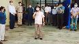CM Soren reviews COVID-19 facility in Ranchis Dhurwa.mp4