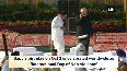 President Kovind, VP Naidu pay tribute to Gandhi, Shastri