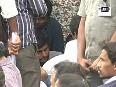 Rahul Gandhi reaches Hyderabad University to express solidarity