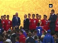 President Putin sends FIFA World Cup trophy on Russia s tour