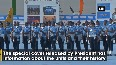 President Kovind presents President Colours to Air Force Station, Hakimpet and 5 Base Repair Depot