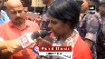 TMC workers allegedly attacked BJP candidate Bharati Ghosh at Kali temple in WBs Keshpur