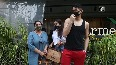 Sara Ali Khan spends time with family