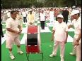 PM Modi thanks President Mukherjee for joining International Yoga Day celebrations