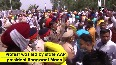 Punjab Power Crisis AAP workers protest outside CMs house, police use water cannons