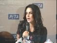 Neha-Dhupia-Promotes-Vegetarianism-for-PETA