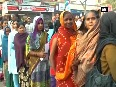 India stands in queue outside ATMs