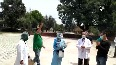 Coronavirus survivors receive good bye from Chandigarh s PGIMER Hospital after getting discharged