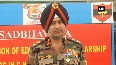 Lt Gen Ranbir Singh credits security forces, administration for carrying out peaceful elections in J andK