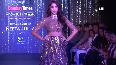 Nora Fatehi walks the ramp at fashion week in Mumbai