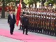 President Mukherjee accorded ceremonial guard of honour