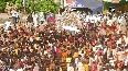 Watch: 'Rath Yatra' begins without devotees in Puri