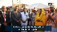 President Kovind arrives in Suriname