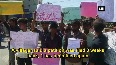Villagers stage protest demanding construction of toilets