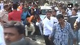 Police baton charge at protestors in Pune