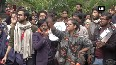 Jamia students protest outside VC office demanding rescheduling of exams