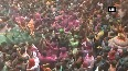 Watch: People celebrate Holi with full enthusiasm at Vrindavan's temple