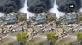 Massive fire breaks out at a hospital in Ahmedabad