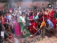 Devotees in Nepal throng temples to mark birth of Lord Krishna