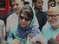 Mehbooba Mufti takes dig at Farooq Abdullah, says other countries should not get involved in India-Pakistan issues