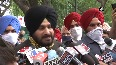 Came here to present peoples voice to High Command Navjot Singh Sidhu
