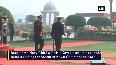 Bangladesh Navy Chief receives guard of honour in Delhi