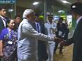 PM Modi leaves Singapore for India