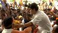 Watch: BJP leader Jyotiraditya receives grand welcome in Bhopal