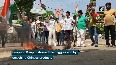India-China border face-off People protest against China across India, burn effigy of President Jinping.mp4