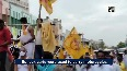 TDP stages protest against rising fuel prices