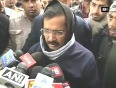 Kejriwal leaves to file his nomination  appeals people to pray for aap victory