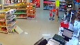 Watch: Man tackles armed robber