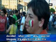 2014 fifa world cup italians in rome disappointed as they