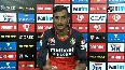IPL 2020 RCBs Shahbaz Ahmed elated for taking his 1st ever wicket of Dhawan.mp4