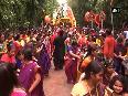 Kids celebrate Jagannath Yatra by pulling Lord s rath