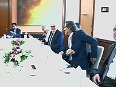 Sushma Swaraj meets German parliament speaker and foreign minister in Berlin