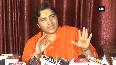 Sadhvi Pragya slams Congress for alleged atrocities on her