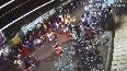 Caught on cam: Cop dragged on car's bonnet in Jabalpur