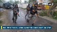 Encounter between security forces and terrorists underway in Pulwama