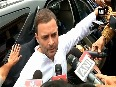 It s BJP, RSS way of politics, says Rahul Gandhi on his convoy attack