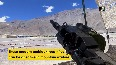 Indian Army troops deployed at forward bases in Ladakh